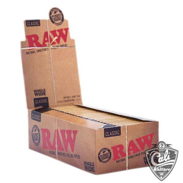 Raw Classic Single Wide 25 pk