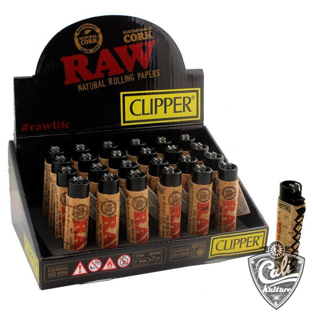 Raw Clipper Cork Lighter