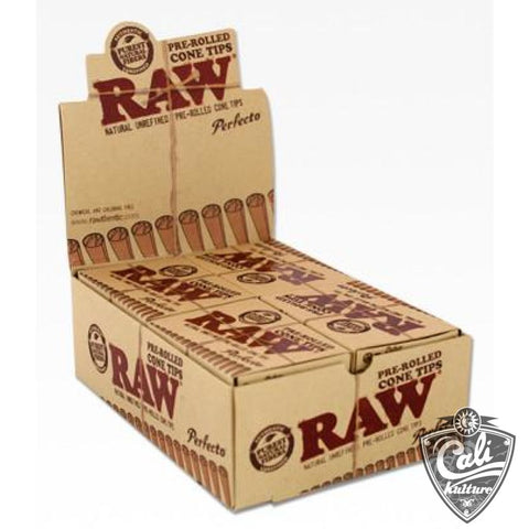Raw Cone Tips Perfecto 24Pk