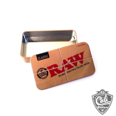 Raw Tin Box