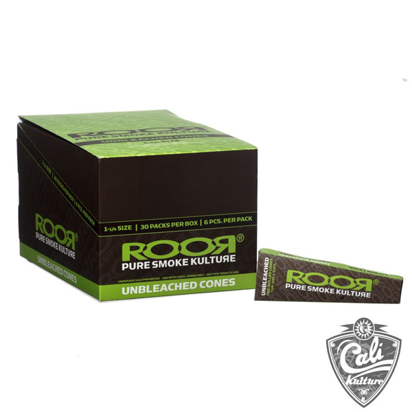 RooR Pre-Rolled Unbleached Cones