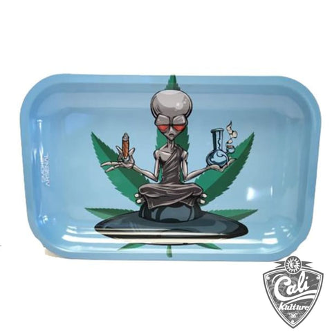 Smoke Arsenal Rolling Tray Medium 10.5'' X 6.25'' -  Outter Space