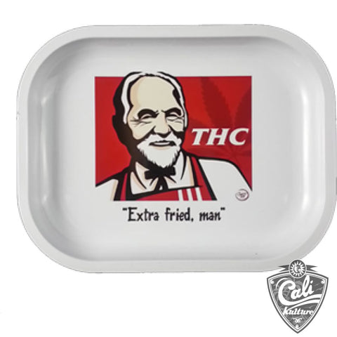 Smoke Arsenal Rolling Tray Small 7'' X 5.5'' - THC