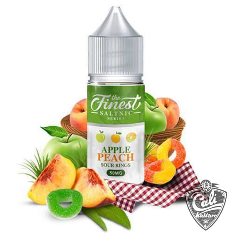 The Finest Salt E-Liquid - Apple Peach Sour Rings - 30ML