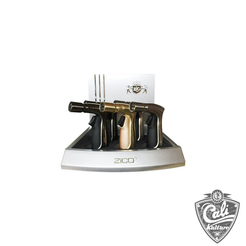 Zico 4 Jet Torch Lighters 5ct Display ZD-39