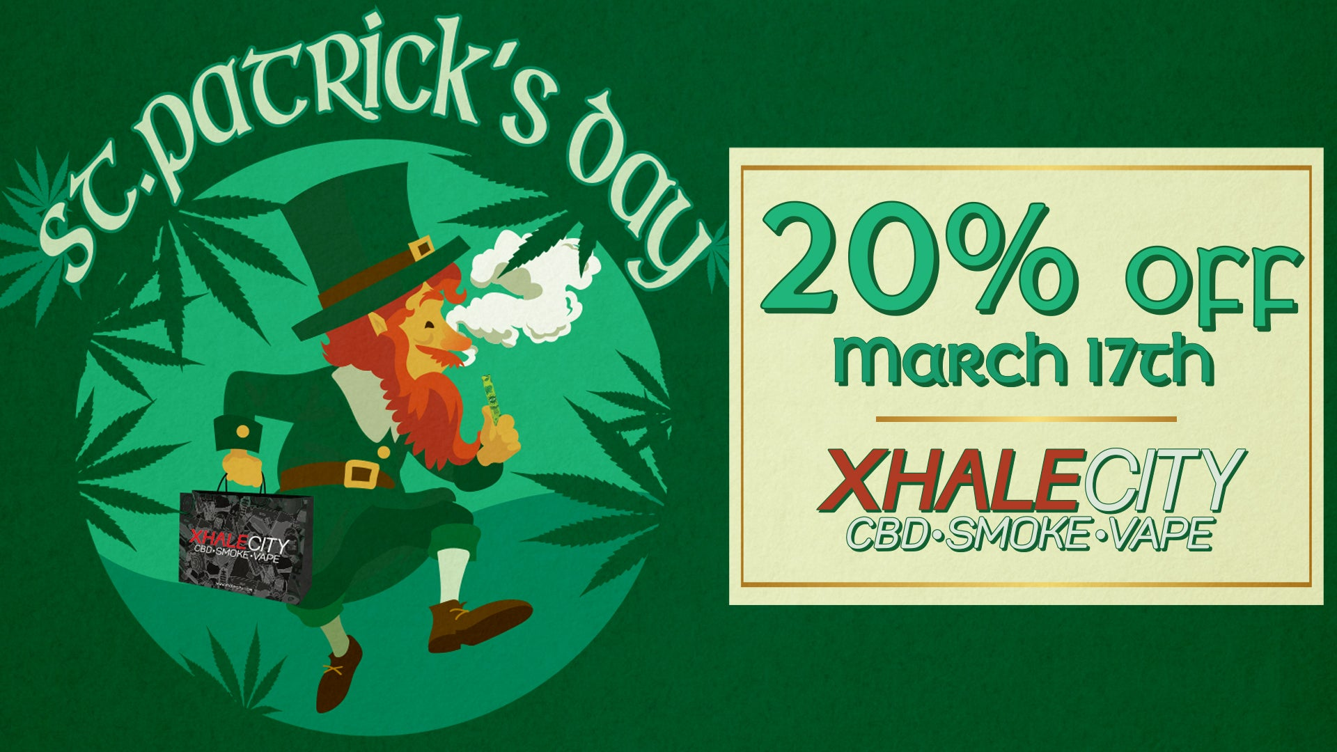 St Patricks Day Sale Event 2020