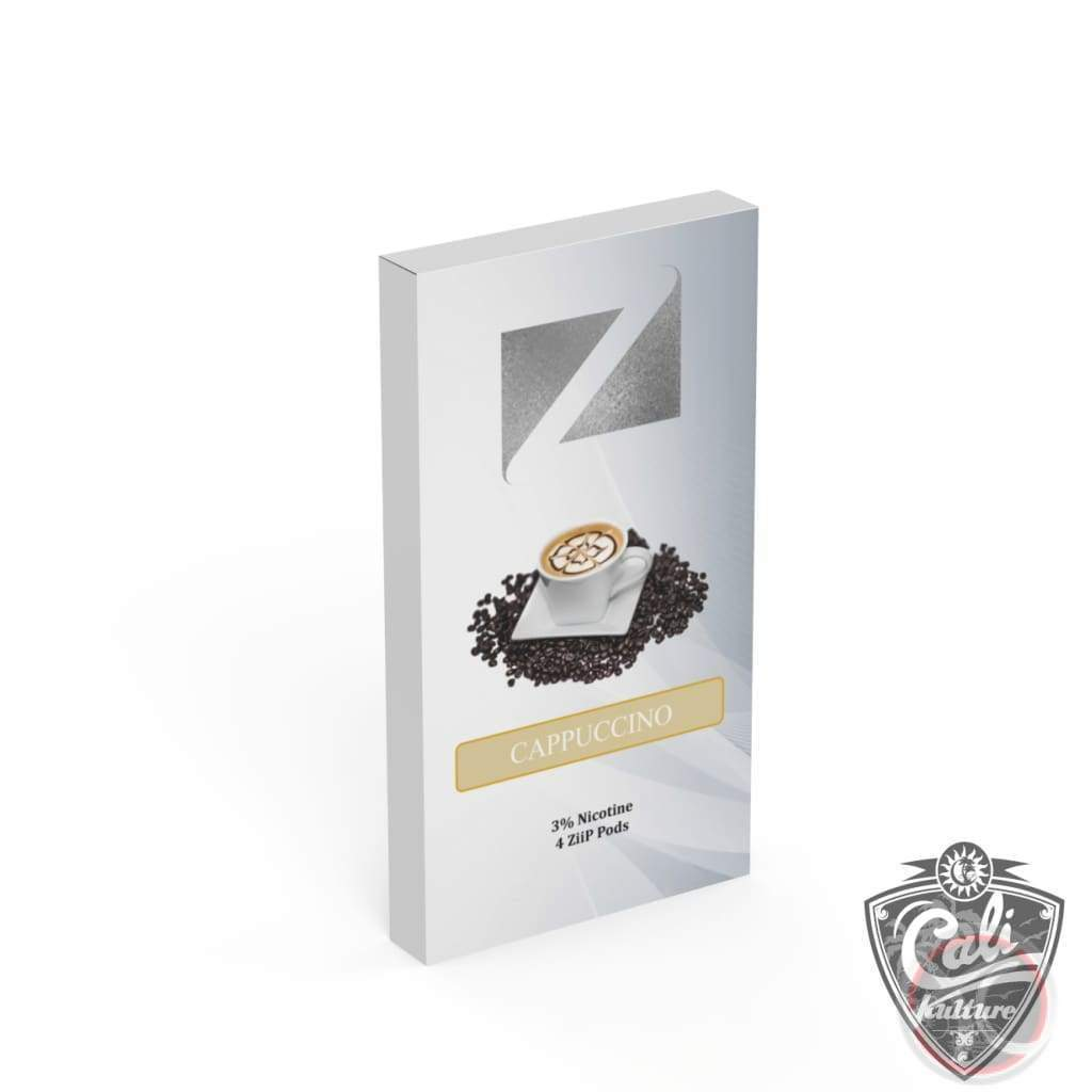 Ziip Pods For Juul 4Pk - Cappuccino