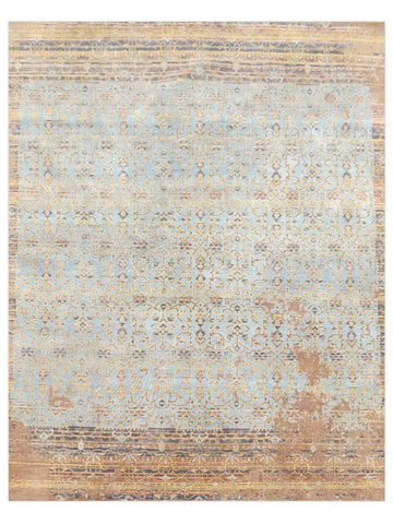 Dover - Blue/Gold VIN12, Area Rug - Jordans Floor Covering