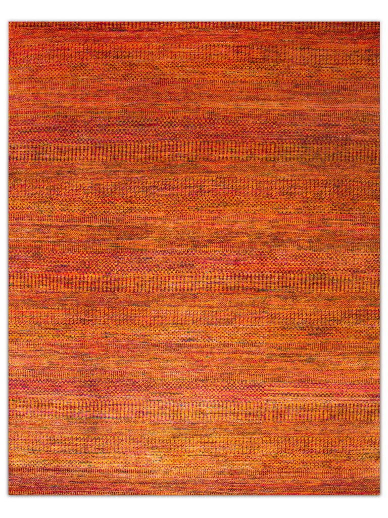 Silk Rhythm - Orange/Red, Area Rug - Jordans Floor Covering