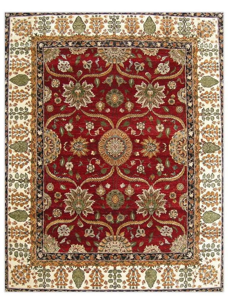 Himgiri II - Red/Cream GS234 Area Rug - Jordans Flooring