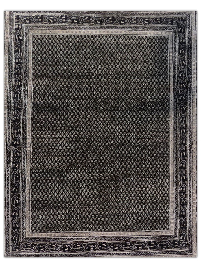 New Mir - BT3064 Black Area Rug - Jordans Flooring