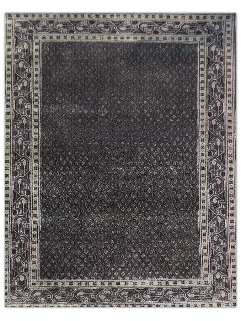 New Mir - BT3064 Grey Area Rug - Jordans Flooring