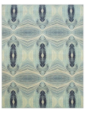 Omega - QM167 Sea Mist/Blue Haze Area Rug - Jordans Flooring