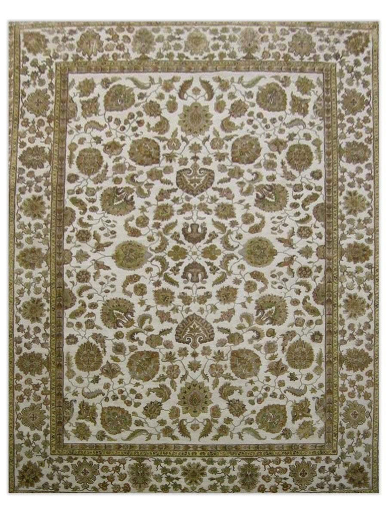 Taj Mahal - Black/Cream GS319, Area Rug - Jordans Floor Covering