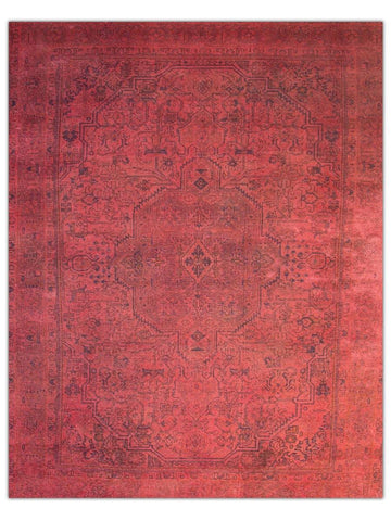 Colour Revolution - Red Area Rug - Jordans Flooring