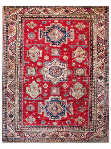 Super Kazak - Red, Area Rug - Jordans Floor Covering