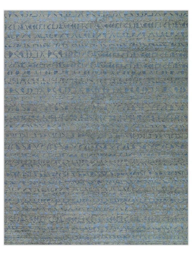 Tufenkian - Fast Forward Smokey Blue Area Rug - Jordans Flooring