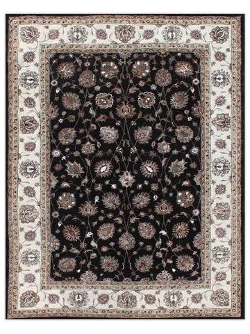 Dream - White/Black IMAD92 Area Rug - Jordans Flooring