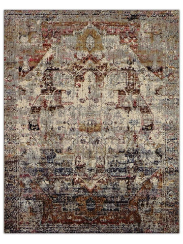 Antiquity - Rust 524H Machine Made Area Rug - Jordans Flooring
