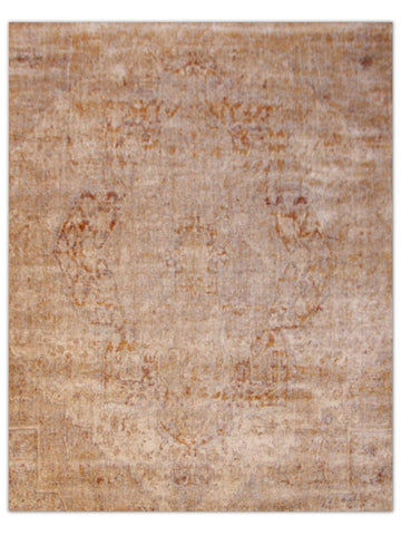 Antiquity - Taupe/Plum 1522I Machine Made Area Rug - Jordans Flooring