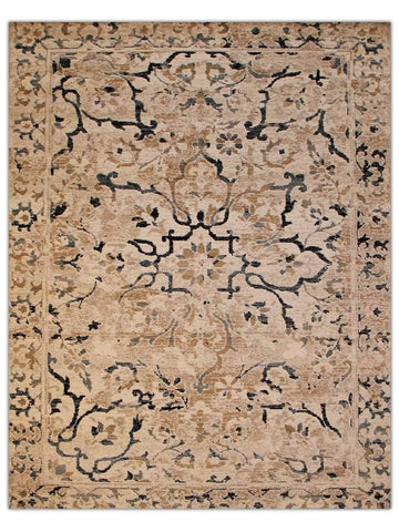 Decor - Almond Blue 5594W Machine Made Area Rug - Jordans Flooring