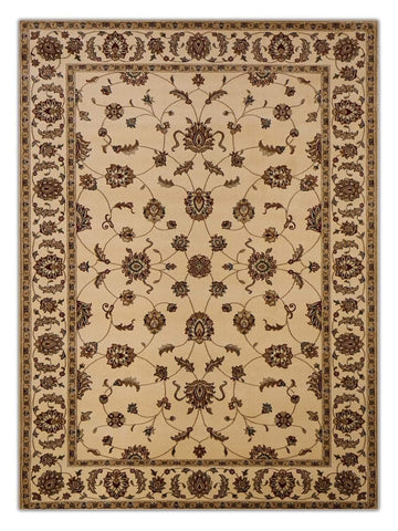 Heirloom - Ivory 652 Machine Made Area Rug - Jordans Flooring