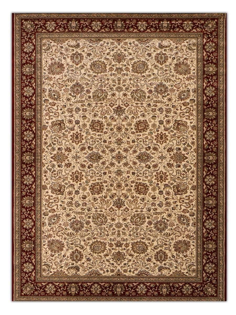 Heirloom - Ivory 612 Machine Made Area Rug - Jordans Flooring