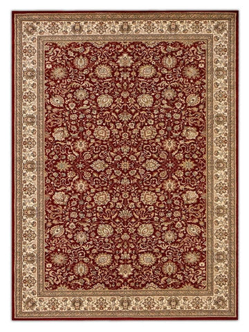 Heirloom - Merlot 012 Machine Made Area Rug - Jordans Flooring