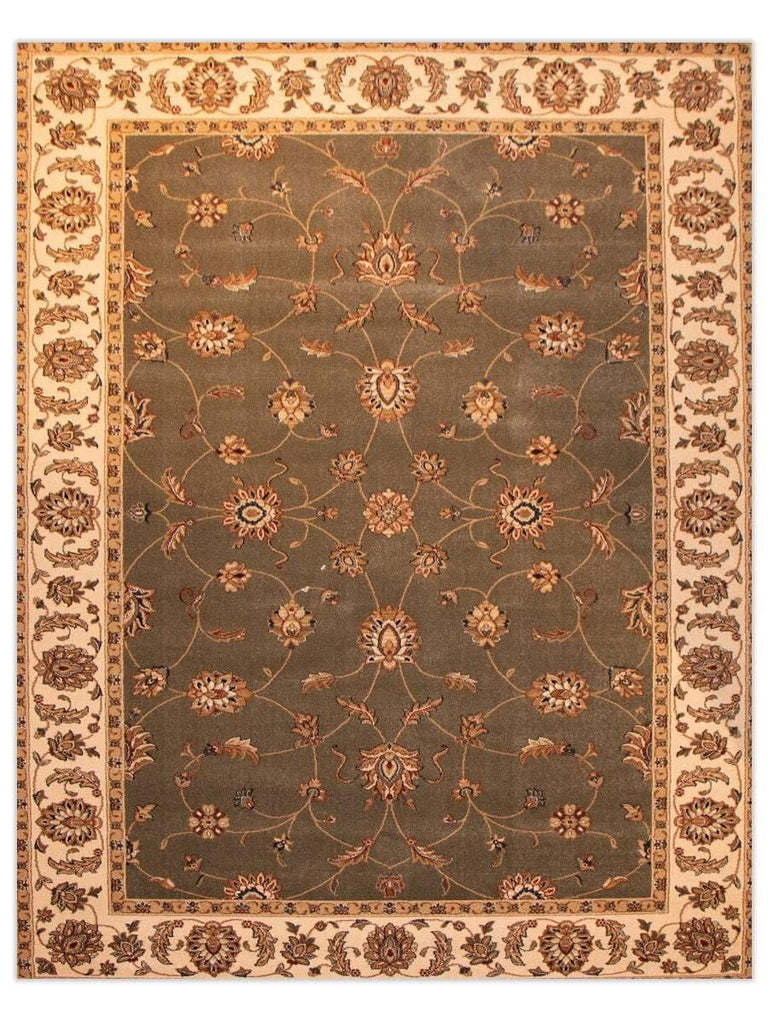 Heirloom - Moss 55005 Machine Made Area Rug - Jordans Flooring