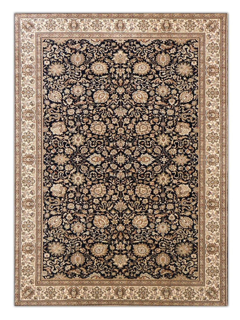 Heirloom - Navy 5092 Machine Made Area Rug - Jordans Flooring