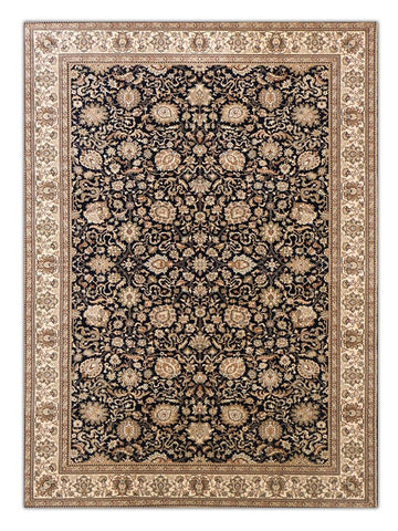 Heirloom - Navy 5092, Machine Made Area Rug - Jordans Floor Covering