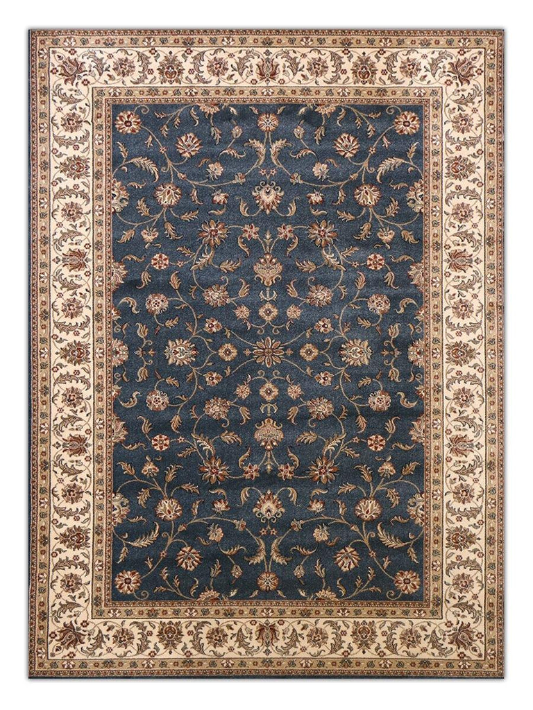 Heirloom - Slate Blue 1032 Machine Made Area Rug - Jordans Flooring