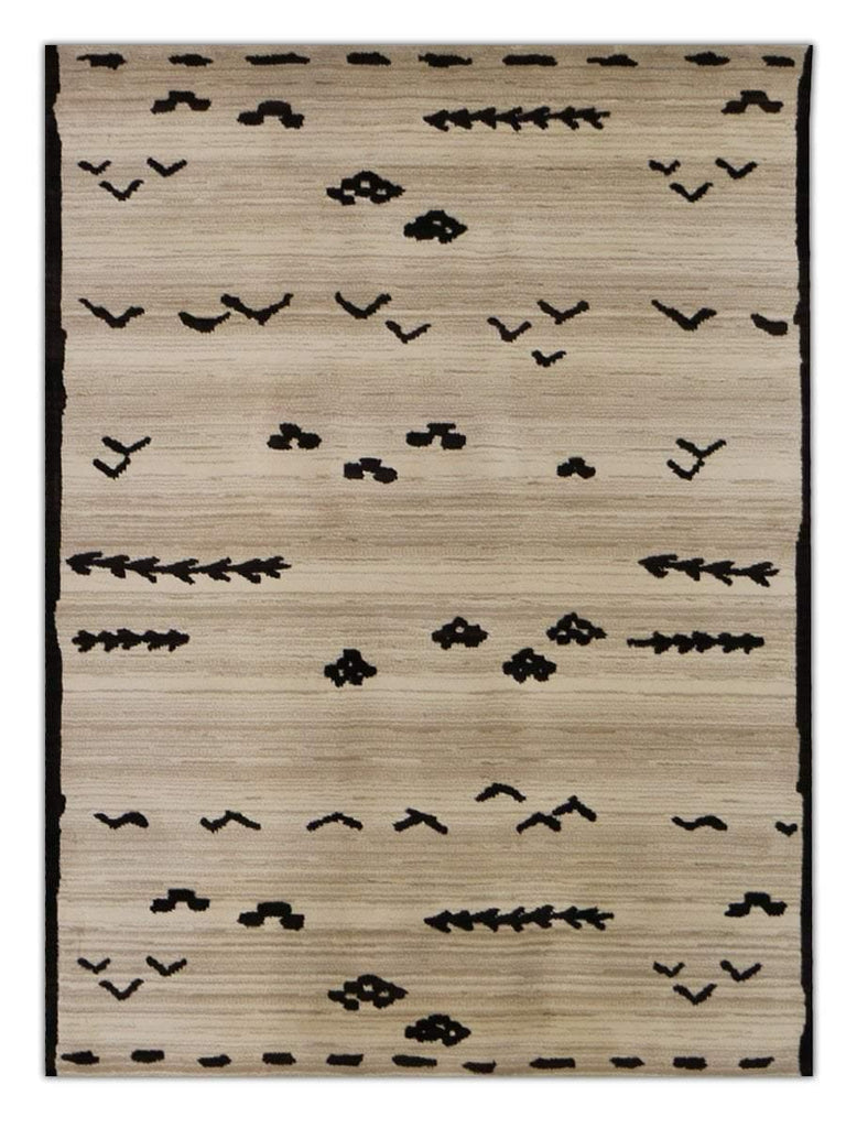 Morocco - Cream 001N, Machine Made Area Rug - Jordans Floor Covering