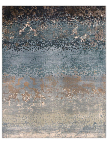 Reflections - Azure 216L, Machine Made Area Rug - Jordans Floor Covering