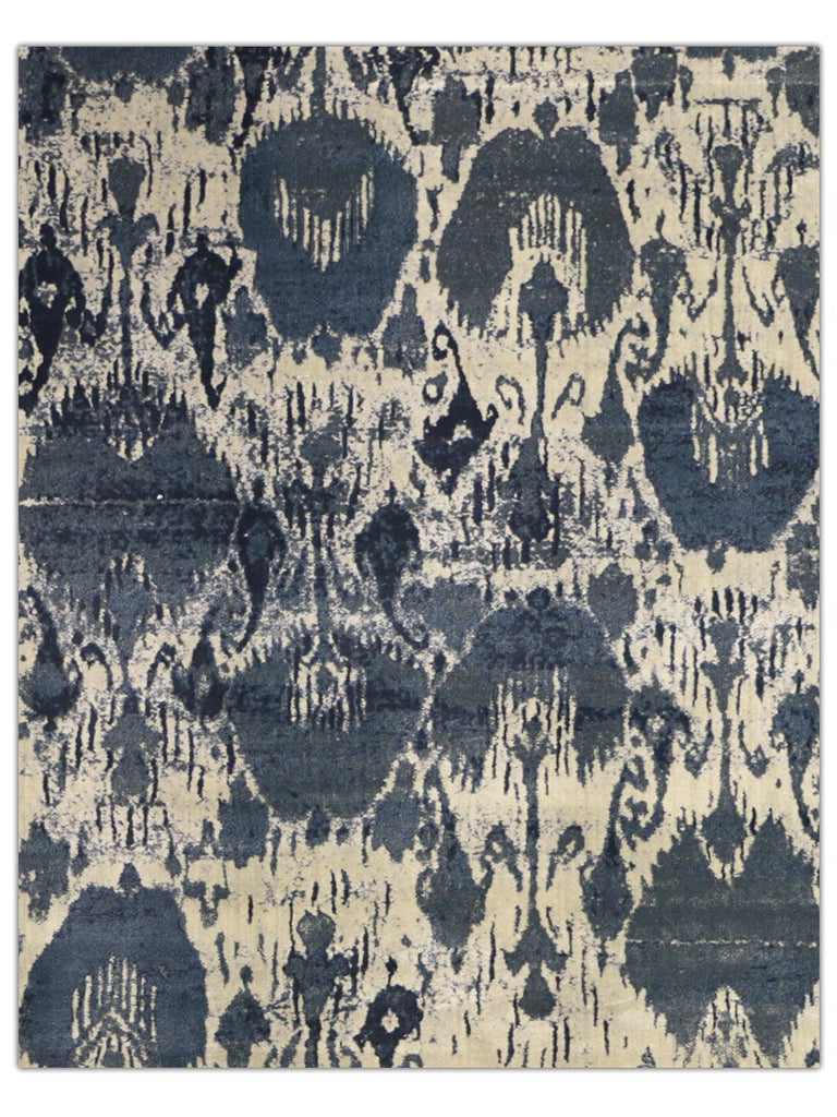 Reflections - Delft Blue 1336X Machine Made Area Rug - Jordans Flooring