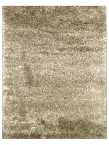 Silky Shag - Beige 520E, Machine Made Area Rug - Jordans Floor Covering