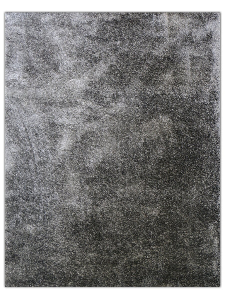 Silky Shag - Carbon 520E, Machine Made Area Rug - Jordans Floor Covering