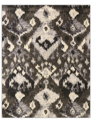 Sterling - Charcoal 525Q Machine Made Area Rug - Jordans Flooring