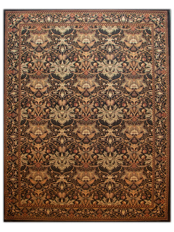 Sultano - Ebony 050X Machine Made Area Rug - Jordans Flooring