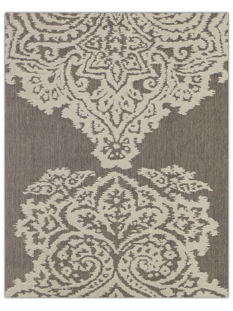 Terrace Outdoor - Beige 5605E Machine Made Area Rug - Jordans Flooring