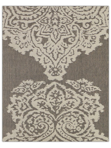 Terrace Outdoor - Beige 5605E, Machine Made Area Rug - Jordans Floor Covering