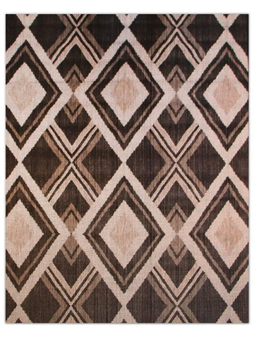 Terrace Outdoor - Black 786Z Machine Made Area Rug - Jordans Flooring