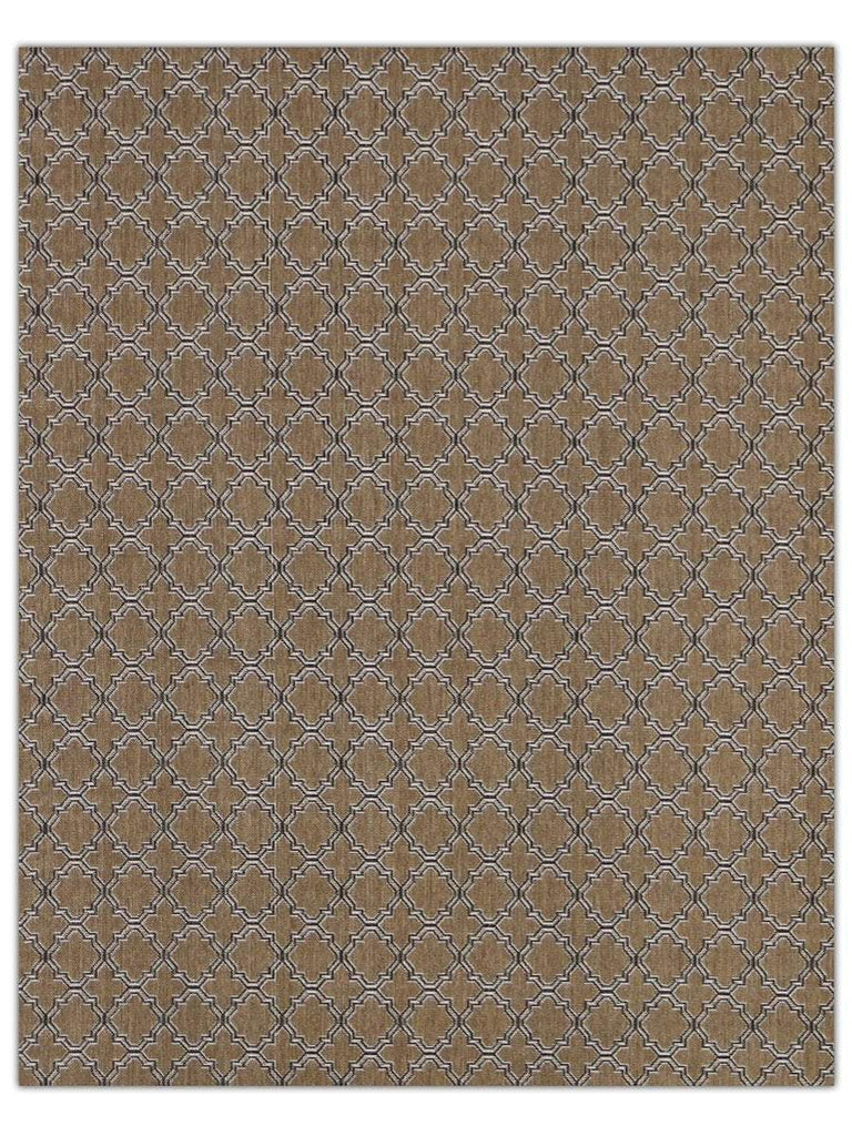 Terrace Outdoor - Black 9992K Machine Made Area Rug - Jordans Flooring