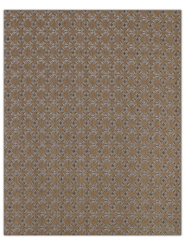 Terrace Outdoor - Black 9992X Machine Made Area Rug - Jordans Flooring
