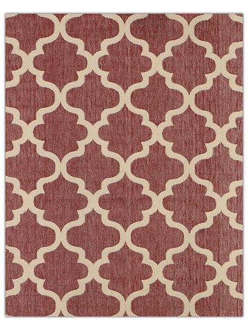 Terrace Outdoor - Ruby 132R, Machine Made Area Rug - Jordans Floor Covering