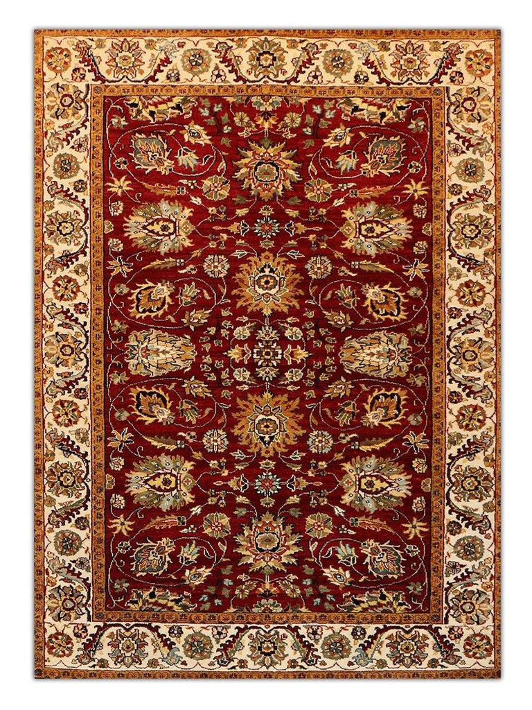 Himgiri II - Red/Cream GS199 Area Rug - Jordans Flooring
