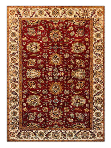 Himgiri - Red/Cream GS199, Area Rug - Jordans Floor Covering