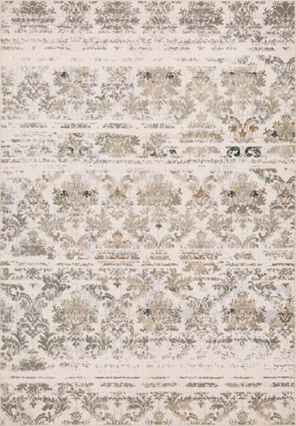 Destiny - Ivory Grey 4440Q Area Rug - Jordans Flooring
