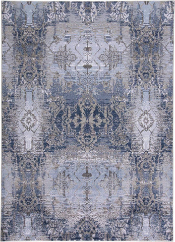 Trendsetter - Light Blue/Sterling Area Rug - Jordans Flooring