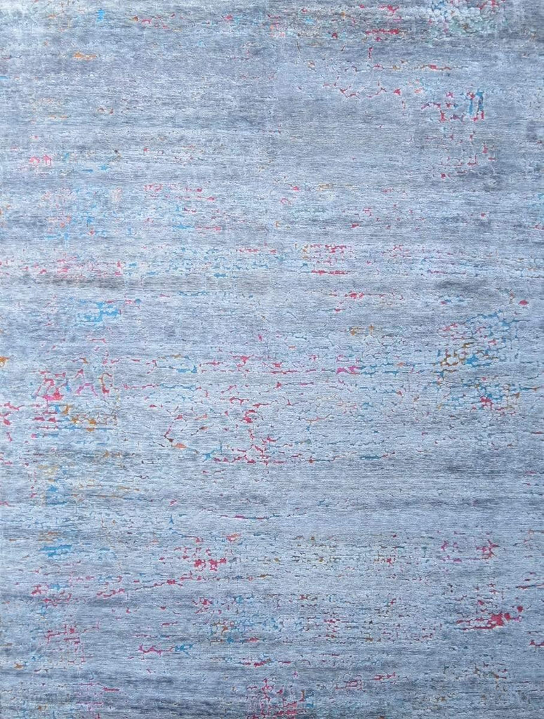 Cracked Up - Grey/Multi-Colour Area Rug - Jordans Flooring